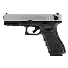 WE 18 Series Pistol Silver (Full Metal) GBBP